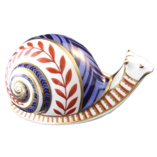 Royal Crown Derby Snail